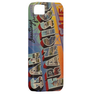 Vintage Travel San Francisco iPhone 5 Cover