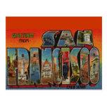 Vintage Travel San Francisco Postcard