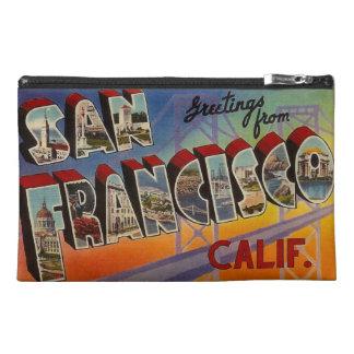 Vintage Travel San Francisco Travel Accessory Bag