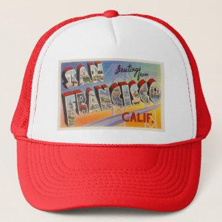 Vintage Travel San Francisco Trucker Hat