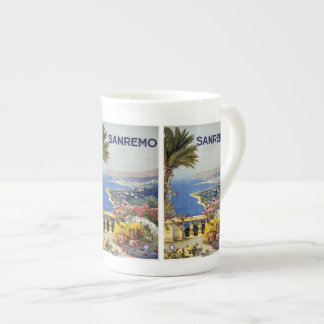 Vintage Travel Sanremo Italy mugs