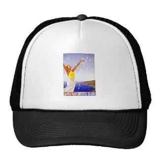 Vintage Travel Santa Margherita Ligure Italy Trucker Hat