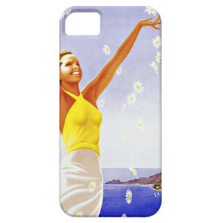 Vintage Travel Santa Margherita Ligure Italy iPhone SE/5/5s Case