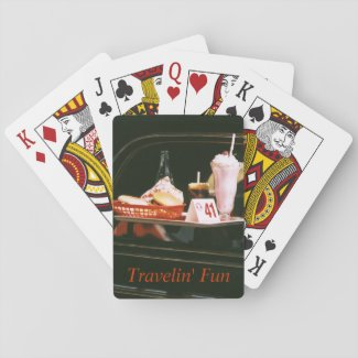 Vintage Travel Souvenir Playing Cards