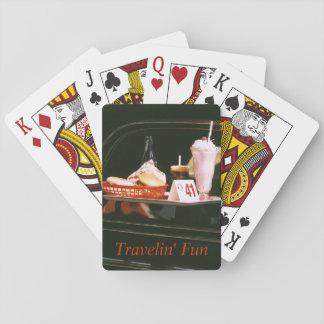 Vintage Travel Souvenir Playing Cards