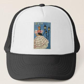 Vintage Travel Spain Trucker Hat