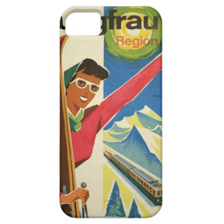 Vintage Travel Switzerland Jungfrau iPhone SE/5/5s Case