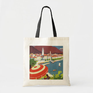 Vintage Travel Switzerland Tote Bag
