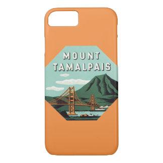 Vintage Travel, Tamalpais Mountain or Mount Tam iPhone 8/7 Case