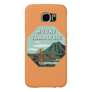 Vintage Travel, Tamalpais Mountain or Mount Tam Samsung Galaxy S6 Case