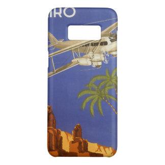 Vintage Travel to Cairo, Eygpt, Biplane Airplane Case-Mate Samsung Galaxy S8 Case