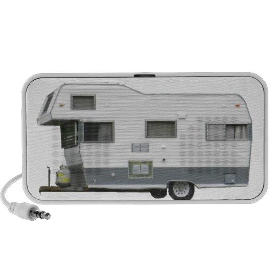 Vintage Travel Trailer Mini Speaker