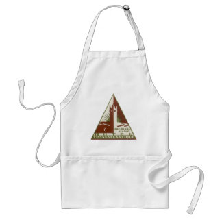 Vintage Travel, Trans Atlantique Hotel, Algeria Adult Apron