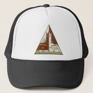 Vintage Travel, Trans Atlantique Hotel, Algeria Trucker Hat