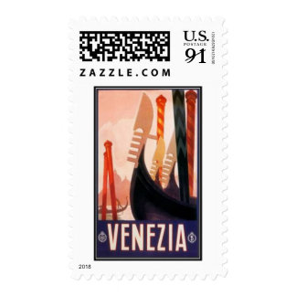 Vintage travel Venice, Italy - Postage