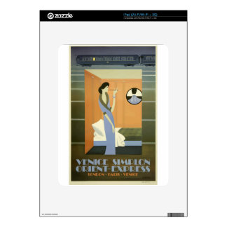 Vintage Travel Venice Orient Express Skins For The iPad