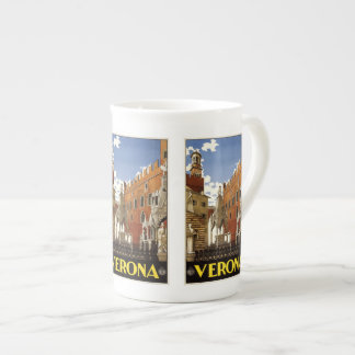 Vintage Travel Verona Italy mugs