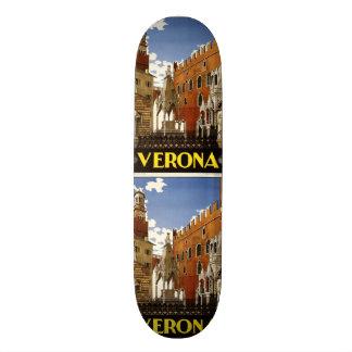 Vintage Travel Verona Italy skateboards