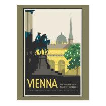 Vintage Travel Vienna Postcard