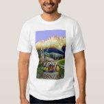 Vintage Travel, Women of Abruzzo, Italy T-Shirt