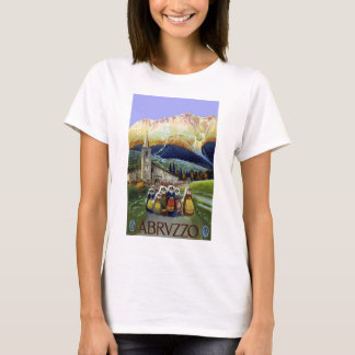Vintage Travel, Women of Abruzzo, Italy T-Shirt
