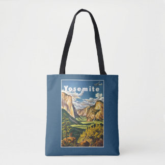 Vintage Travel Yosemite USA bags