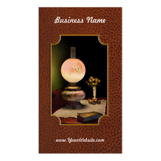 Vintage - Travelers journal Business Card Template