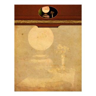 Vintage - Travelers journal Letterhead