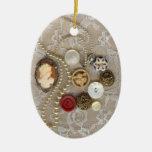 Vintage Treasures Ornament