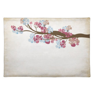Vintage tree American MoJo Placemat Cloth Place Mat