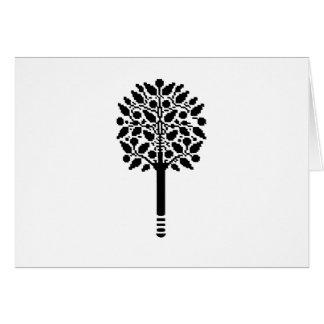 Vintage Tree Card