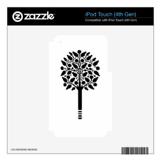 Vintage Tree Decal For iPod Touch 4G
