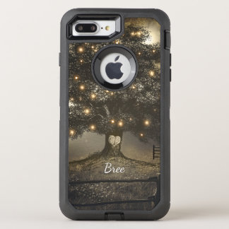 Vintage Tree & Night Lights Rustic Country Chic OtterBox Defender iPhone 8 Plus/7 Plus Case