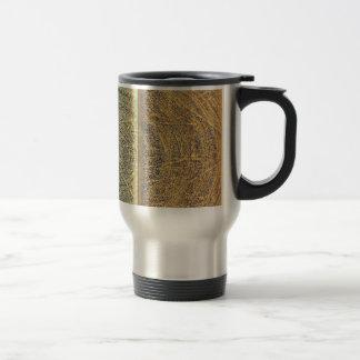 Vintage Tri Colored Grunge Pattern Coffee Mug