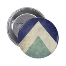 vintage, geometric, hipster, pattern, cool, triangle pattern, funny, retro, shabby, retro pattern, old, blue, green, geometric pattern, buttons, Button with custom graphic design
