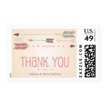Vintage Tribal Arrows Thank You Stamp