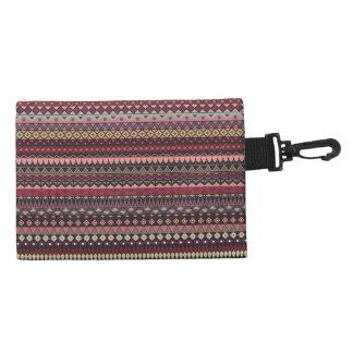 Vintage tribal aztec pattern accessory bag