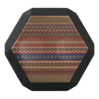 Vintage tribal aztec pattern black bluetooth speaker