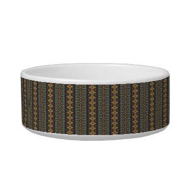 Aztec Themed Vintage tribal aztec pattern bowl