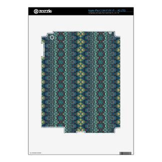 Vintage tribal aztec pattern iPad 3 decal