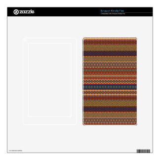 Vintage tribal aztec pattern kindle fire decals