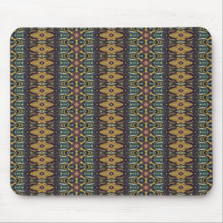 Vintage tribal aztec pattern mouse pad