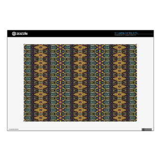 Vintage tribal aztec pattern skins for laptops