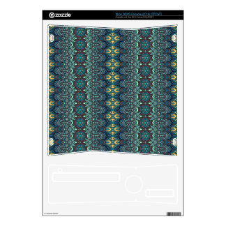 Vintage tribal aztec pattern skins for xbox 360 s