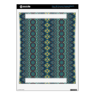 Vintage tribal aztec pattern xbox 360 console decal