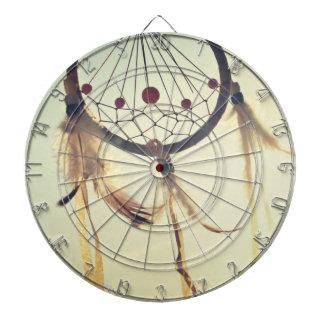 Vintage Tribal Hipster Dream Catcher Ornament Dart Board