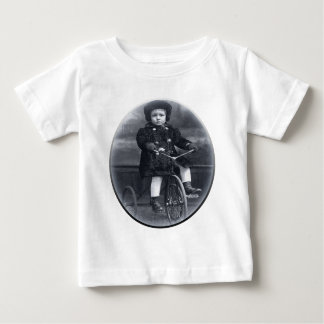 Vintage Tricycle Girl Baby T-Shirt
