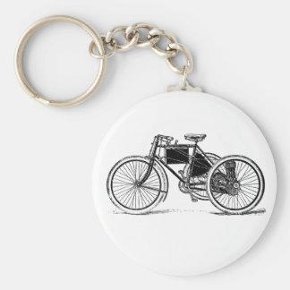 Vintage Tricycle Key Chain