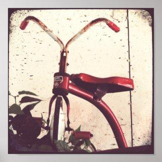 Vintage Tricycle print