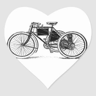 Vintage Tricycle Stickers